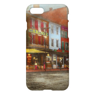 City - Washington DC - Life on 7th St 1912 iPhone 8/7 Case