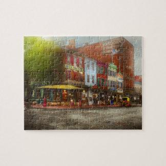 City - Washington DC - Life on 7th St 1912 Jigsaw Puzzle