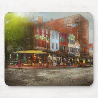 City - Washington DC - Life on 7th St 1912 Mouse Pad