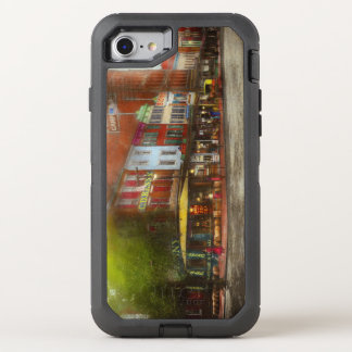 City - Washington DC - Life on 7th St 1912 OtterBox Defender iPhone 8/7 Case