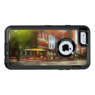 City - Washington DC - Life on 7th St 1912 OtterBox Defender iPhone Case
