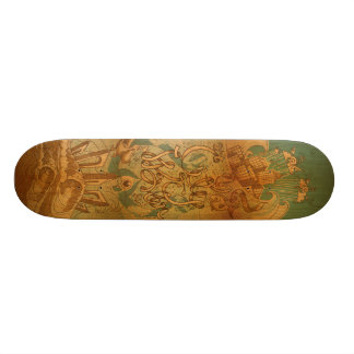 City Water Skateboard Deck