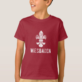 City Wiesbaden, Germany. Lilies coats of arms T-Shirt