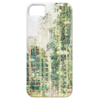 Cityscape and forest iPhone 5 cover