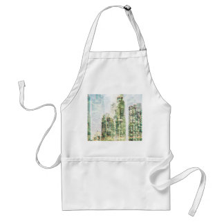 Cityscape and forest standard apron