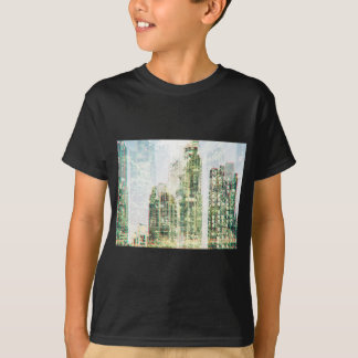 Cityscape and forest T-Shirt