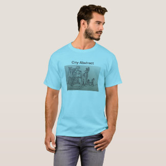 Cityscape, Architecture, Abstract T-Shirt
