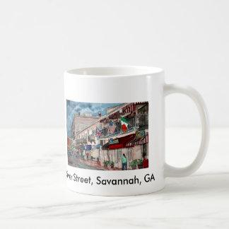 Cityscape architecture historical art, River St... Mug
