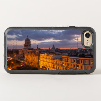 Cityscape at sunset, Havana, Cuba OtterBox Symmetry iPhone 8/7 Case