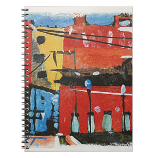 cityscape by Lyn Graybeal Notebooks