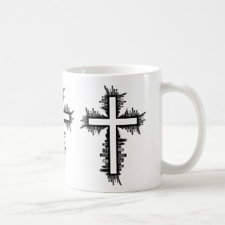 Cityscape Cross Coffee Mug
