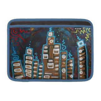 Cityscape Macbook Air Sleeve