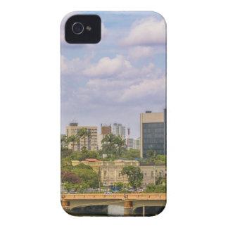 Cityscape of Recife, Pernambuco Brazil iPhone 4 Cases