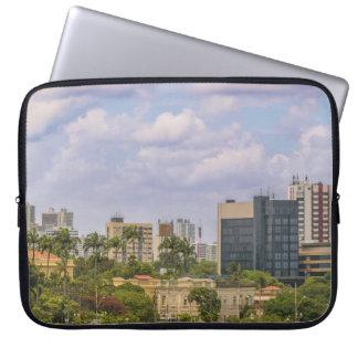 Cityscape of Recife, Pernambuco Brazil Laptop Sleeve