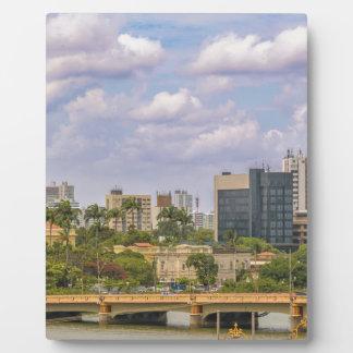 Cityscape of Recife, Pernambuco Brazil Photo Plaque