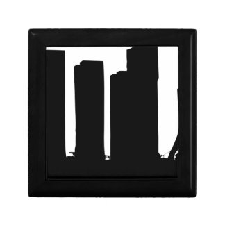 Cityscape Silhouette Gift Box
