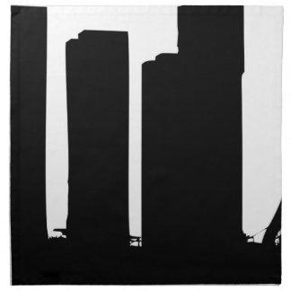 Cityscape Silhouette Napkin