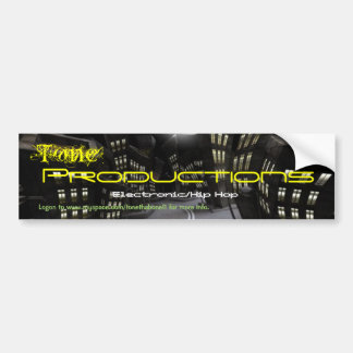CIUDAD%20NOCTURNA, Tone, Productions, Electroni... Bumper Sticker