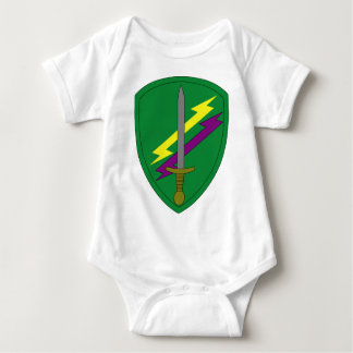 Civil Affairs and Psychological Ops Command Baby Bodysuit
