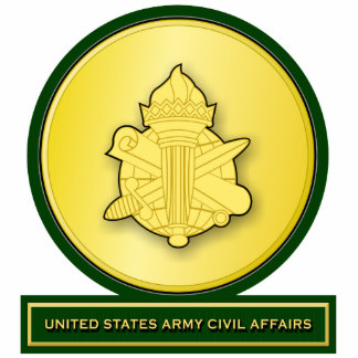 Civil Affairs crest 2 Acrylic Cut Out