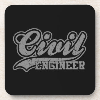 Civil Engineer Beverage Coaster