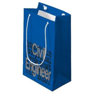 Civil Engineer Extraordinaire Small Gift Bag