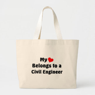 Civil Engineer Jumbo Tote Bag