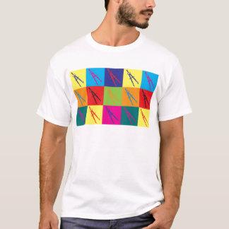 Civil Engineering Pop Art T-Shirt