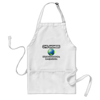 Civil Engineers...Making World a Better Place Standard Apron