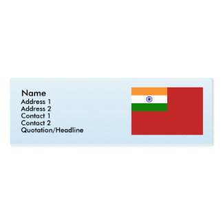 Civil Ensign India, India Business Card Templates