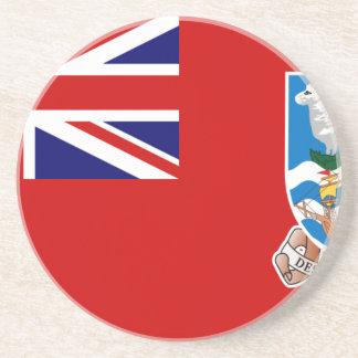 Civil Ensign Of Falkland Islands, United Kingdom Sandstone Coaster
