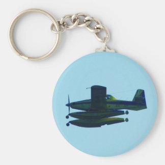 Civil Guard Seaplane. Basic Round Button Key Ring