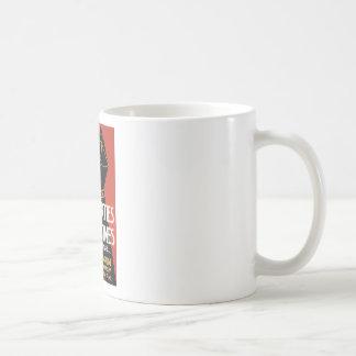 Civil Liberties in War Times Basic White Mug