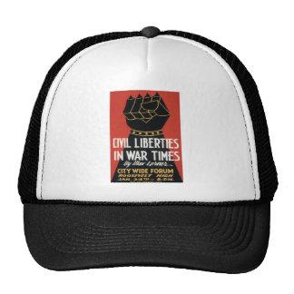 Civil Liberties in War Times Cap