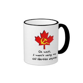 Civil Liberties Ringer Mug