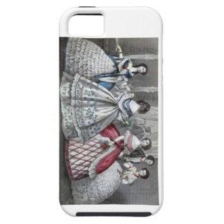 Civil War Antebellum Fashion Ladies Ball Gown iPhone 5 Cover