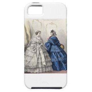 Civil War Antebellum Fashion Ladies Ball Gown iPhone 5 Covers