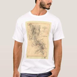 Civil War Atlanta Campaign Map September 1, 1864 T-Shirt