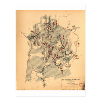 Civil War Battle of Chickamauga Sept 19 & 20 1863 Postcard