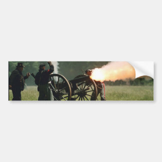 Civil War Cannon Bumper Sticker