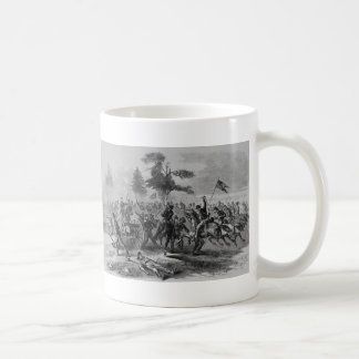 Civil War cavalry attack Coffee Mug