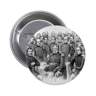 Civil War Generals of the Union button