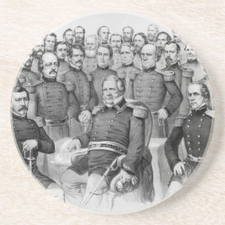 Civil War Generals of the Union coaster