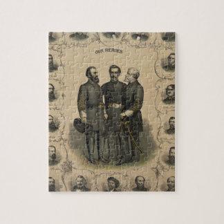 Civil War Heroes Jigsaw Puzzle
