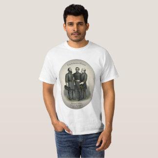 Civil War Heroes Stonewall Beauregard Lee T-Shirt