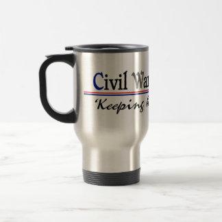 Civil War Reenactor Travel Mug
