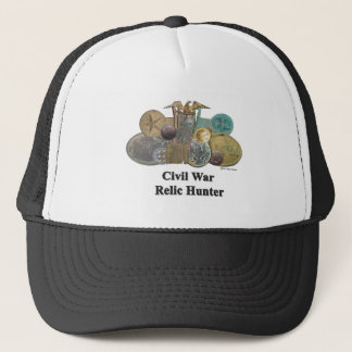 Civil War Relic Hunter Trucker Hat