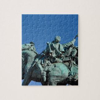 Civil War Soldier Statue in Washington DC_ Jigsaw Puzzle