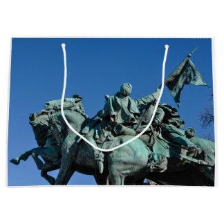 Civil War Soldier Statue in Washington DC_ Large Gift Bag