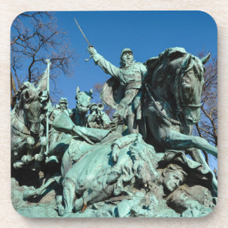 Civil War Statue in Washington DC Coaster